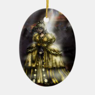 Chica de la escoria ornamento de reyes magos