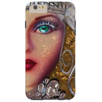 Chica de la fantasía de Zoopellica Funda De iPhone 6 Plus Tough