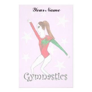 Chica de la gimnasia  papeleria de diseño