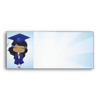 chica de la graduación sobres