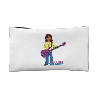 Chica de la guitarra baja