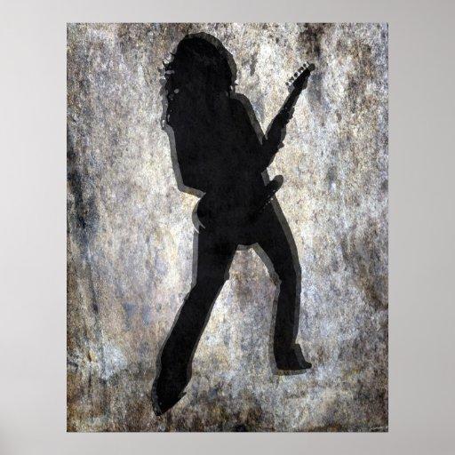 Chica de la guitarra, Copyright Karen J Williams Poster