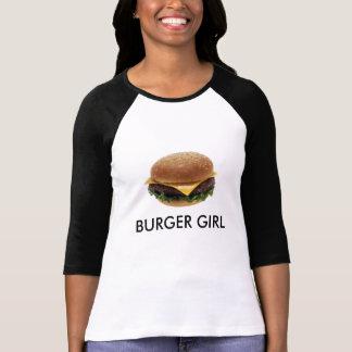 Chica de la hamburguesa playeras