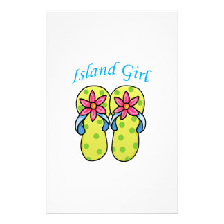 Chica de la isla papeleria