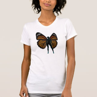 Chica de la mariposa playera