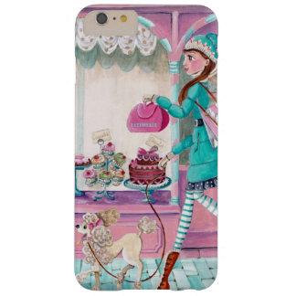 Chica de la moda del Patisserie - caso más de Funda Para iPhone 6 Plus Barely There
