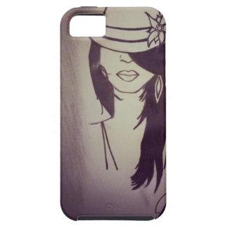 Chica de la moda iPhone 5 funda