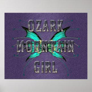 Chica de la montaña de Ozark de la CAMISETA Impresiones