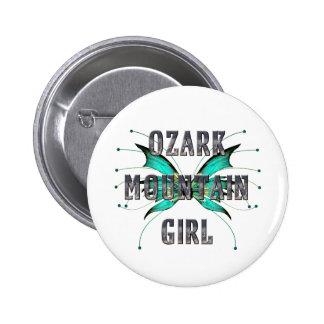 Chica de la montaña de Ozark de la CAMISETA Pins