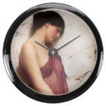 Chica de la pandereta de Juan Guillermo Godward Reloj Aquavista
