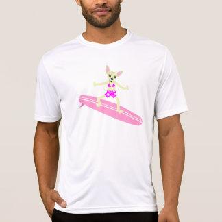 Chica de la persona que practica surf de Longboard Camiseta