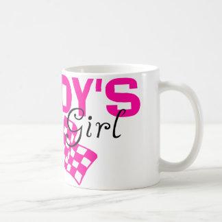 Chica de la raza del papá taza