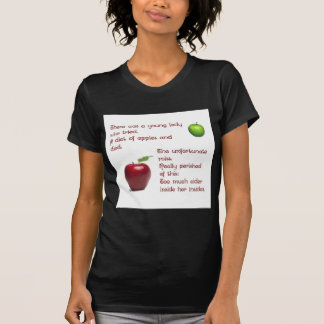 Chica de la sidra de Apple Camiseta