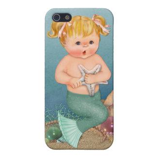 Chica de la sirena iPhone 5 carcasa