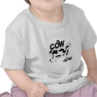 Chica de la vaca camisetas