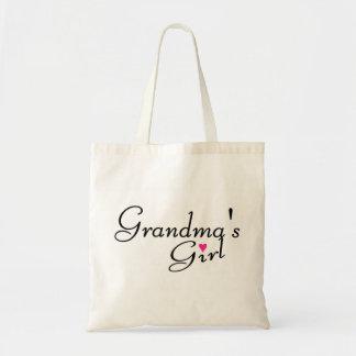 Chica de las abuelas bolsa de mano