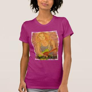 Chica de las rocas de Austin Playera