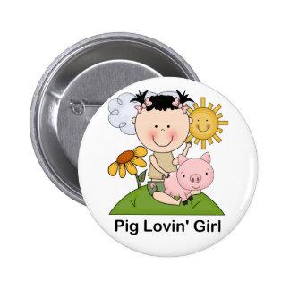Chica de Lovin del cerdo Pin