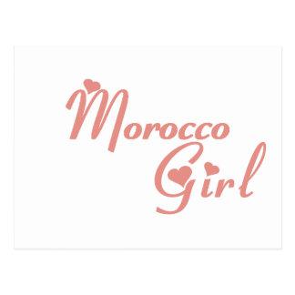 Chica de Marruecos Postales