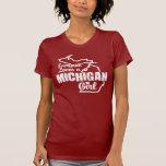 Chica de Michigan Camiseta