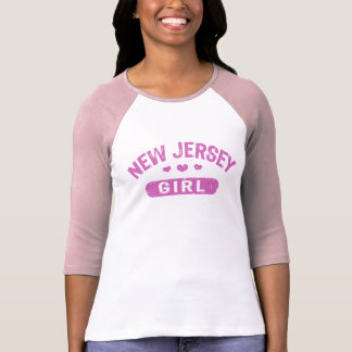 Chica de New Jersey Playera