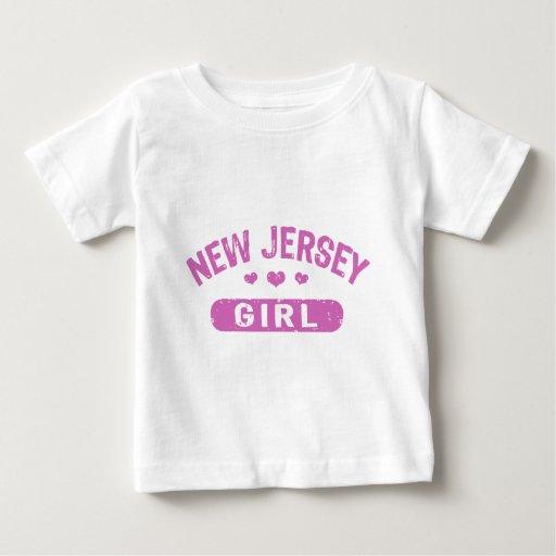 Chica de New Jersey Playeras