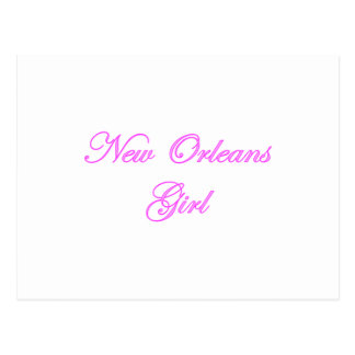 Chica de New Orleans Tarjetas Postales