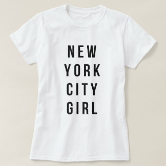 Chica de New York City Remeras