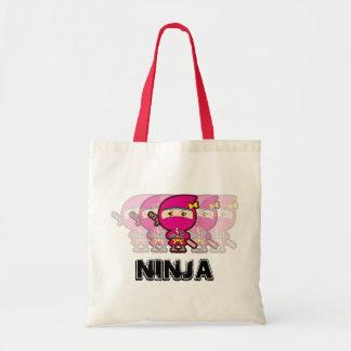 Chica de Ninja Bolsa Tela Barata