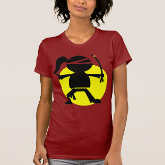 Chica de Ninja Camisetas