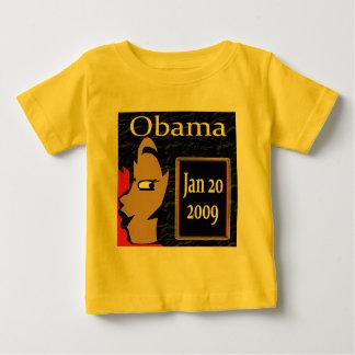 ¡Chica de Obama, camisetas de la inauguración y