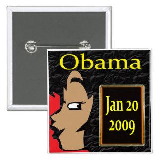 ¡Chica de Obama, camisetas de la inauguración y re Pin