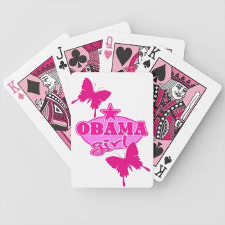 Chica de Obama Cartas De Juego