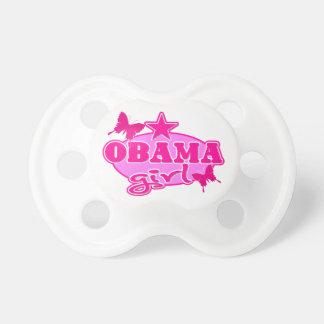 Chica de Obama Chupete De Bebé