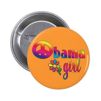 Chica de Obama Pins