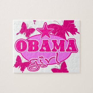 Chica de Obama Rompecabezas