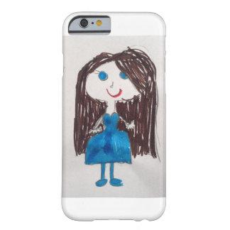 Chica de ojos azules funda de iPhone 6 barely there