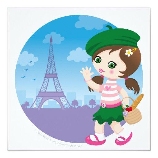 Chica de París Comunicado