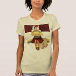 Chica de portada camisetas