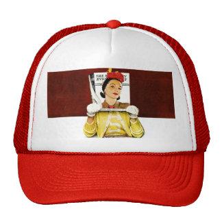 Chica de portada gorras de camionero