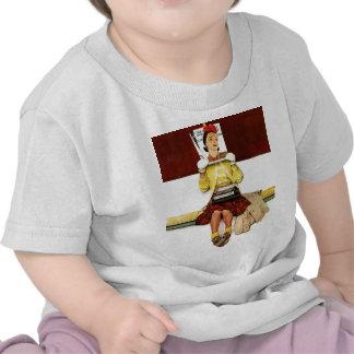 Chica de portada camiseta