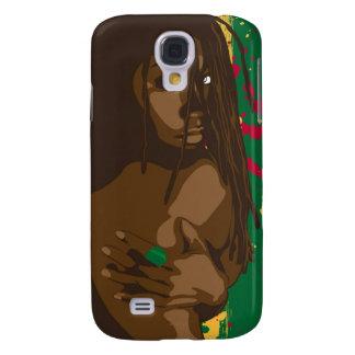 Chica de Rasta Funda Samsung S4