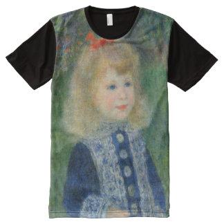 Chica de Renoir con bella arte de la regadera