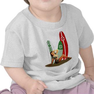Chica de revista Vasco Francia Camisetas