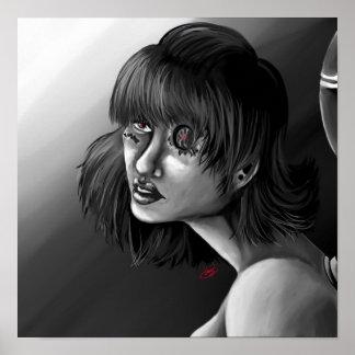 Chica de Robo Póster