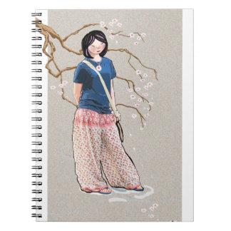 chica de Sakura Libro De Apuntes