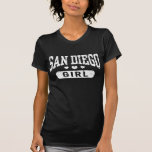 Chica de San Diego Camisetas