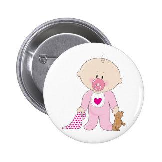 Chica de Soother del bebé Pin