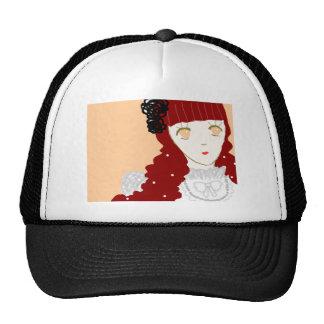 Chica de sueño dulce gorra