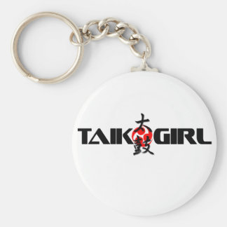 Chica de Taiko (diseño 1) Llaveros Personalizados